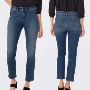 NYDJ | Marilyn straight cropped jeans size 14